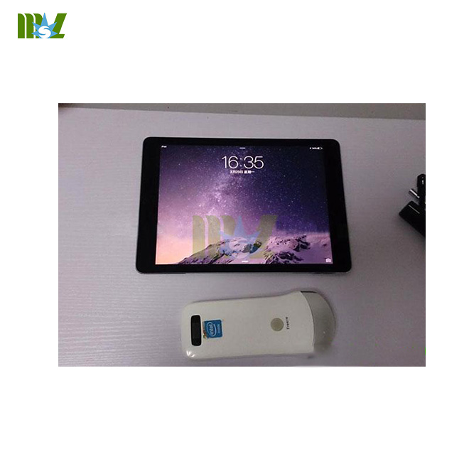wireless ultrasound probe MSLPU31 working with ipad