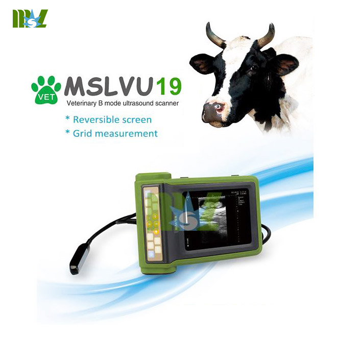 Animal Ultrasound Machine Used In Cattle Equine Etc