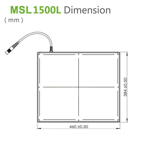 best Multi-purpose Radiography Detector MSL1500L