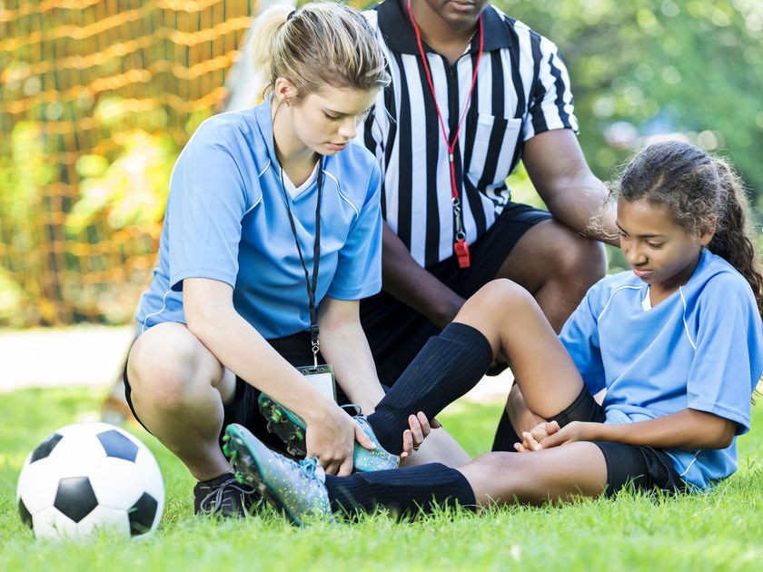 Injury recovery after sport for children